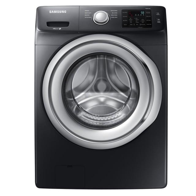 Samsung WF45N5300AV 4.5 cu. ft. High Efficiency Front Load Washer in Black Stainless