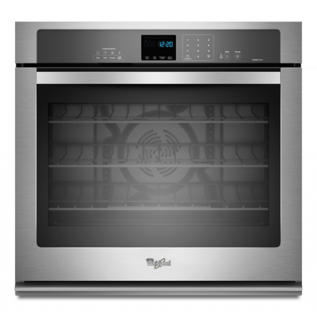 Whirlpool WOS92EC0AS 30 Inch Single Electric Wall Oven with 5.0 cu. ft.