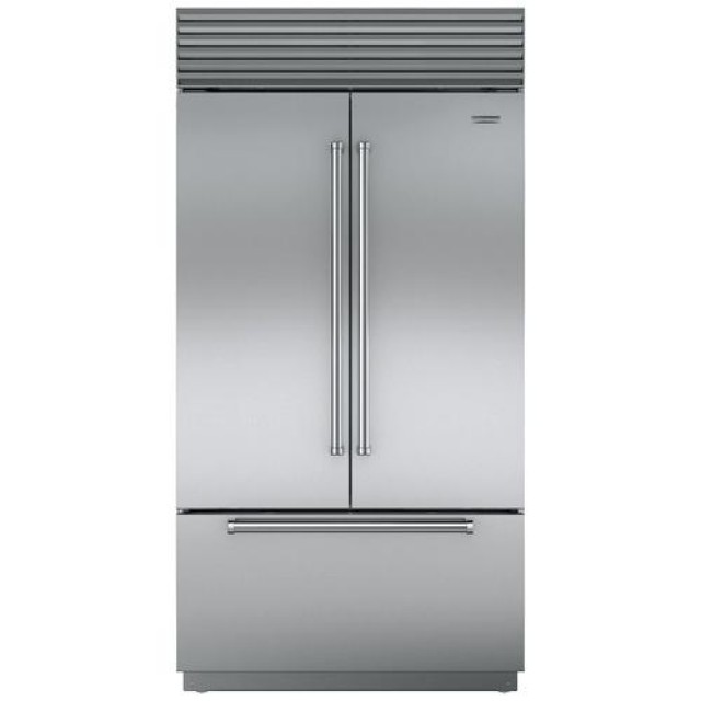 Jenn-Air JF42NXFXDE 42 Inch Built In Counter Depth French Door Refrigerator with 24.17 cu. ft.