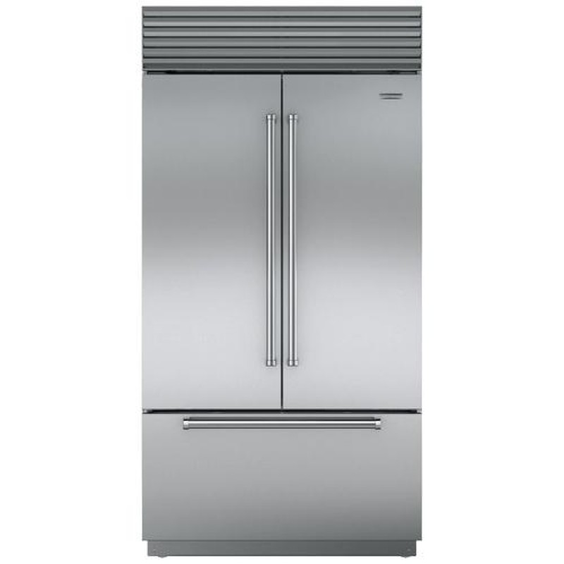 Jenn Air JF42NXFXDE 42 Inch Built In Counter Depth French Door Refrigerator  With 24.17 Cu. Ft.