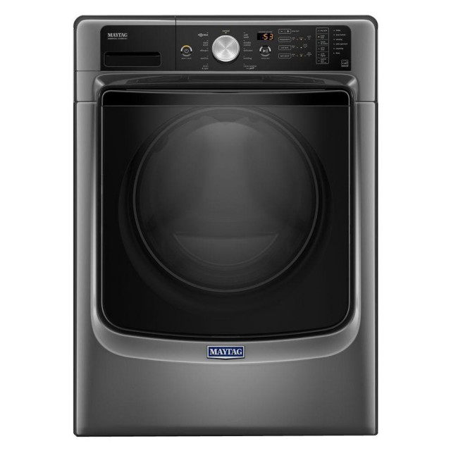 Maytag  MHW5500FC 4.5 cu. ft. High-Efficiency Stackable Metallic Slate Front Load Washing Machine with Steam, ENERGY STAR