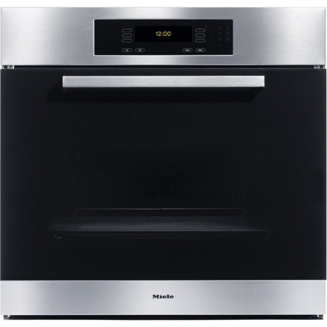 "Miele H4886BP Europa Design 30"" Single Electric Wall Oven with True European Convection, 17 Operating Modes Including AutoRoast, Self-Cleaning and MasterChef Touch Controls"