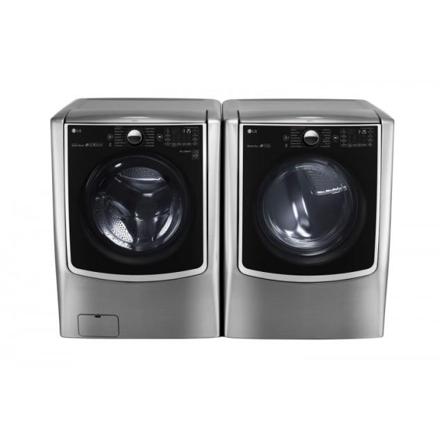 LG WM5000HVA  4.5 cu. ft. Smart Front Load Washer and LG DLGX5001V 7.4 cu. ft. Smart Gas Dryer