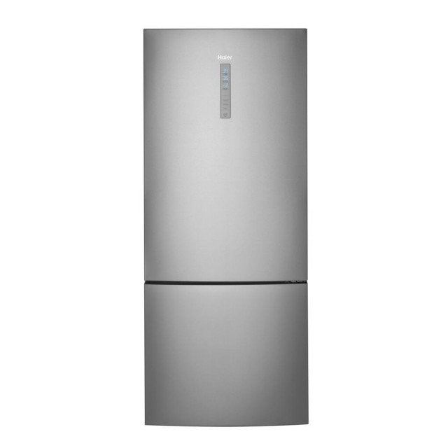 Haier HRB15N3BGS 15.0 cu. ft. Bottom Freezer Refrigerator in Stainless Steel