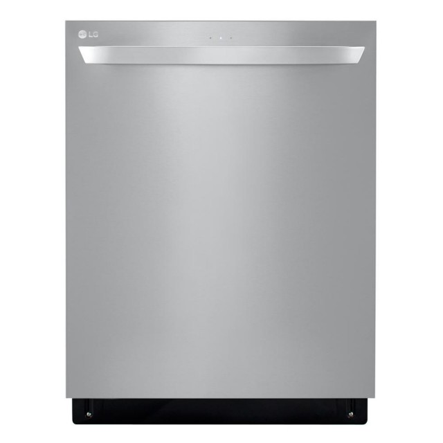 LG LDT5678ST Top Control Tall Tub Smart Dishwasher with QuadWash, 3rd Rack and Wi-Fi Enabled in Stainless Steel, 46 dBA