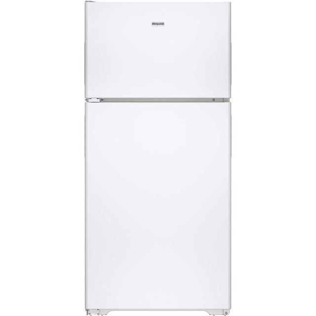 Hotpoint HPS15BTHLWW 14.6 cu. ft. Top Freezer Refrigerator in White