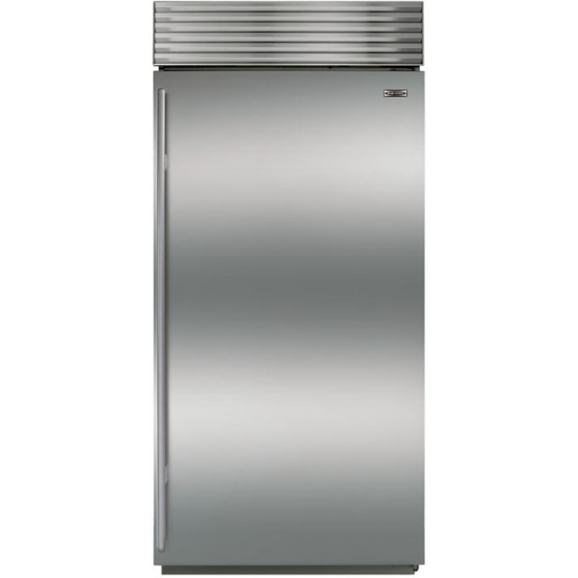 "Sub-Zero BI-36F/S/TH-LH 36"" Built-In All Freezer - Classic Stainless, Left Hinge Tubular Handle"