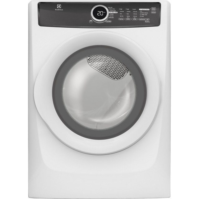 Electrolux EFME417SIW 27 Inch 8.0 cu. ft. Electric Dryer with 7 Dry Cycles