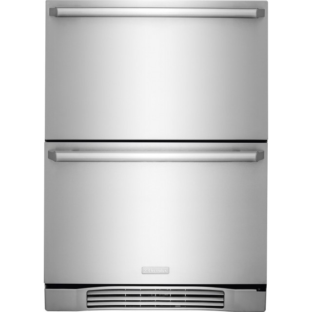 Electrolux EI24RD10QS 24 Inch Built-in Double Drawer Refrigerator