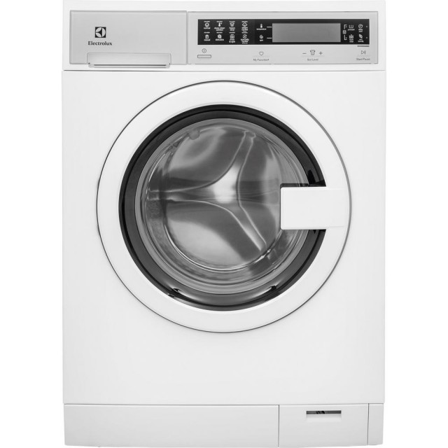 Electrolux EFLS210TIW IQ Touch 24 in. W 2.4 cu. ft. High Efficiency Front Load Washer with Steam in White