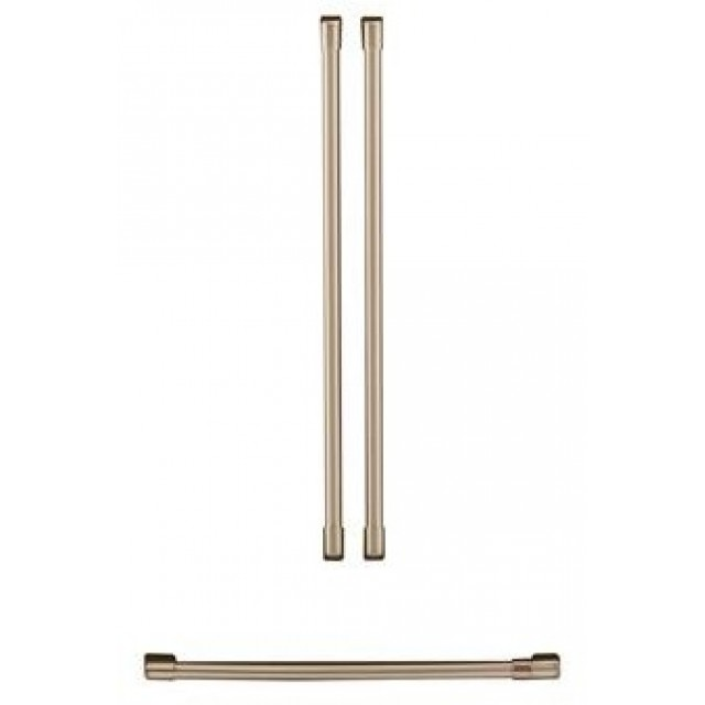 GE CXMA3H3PNBZ Cafe Refrigeration Handle Kit in Stainless Steel / Brushed Bronze