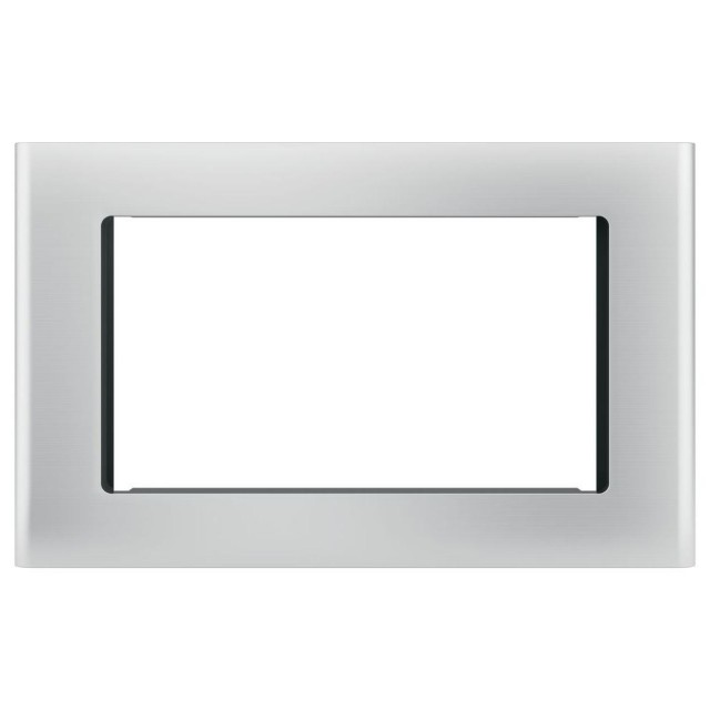GE JX9152SJSS Microwave Optional 27 in. Built-In Trim Kit in Stainless Steel