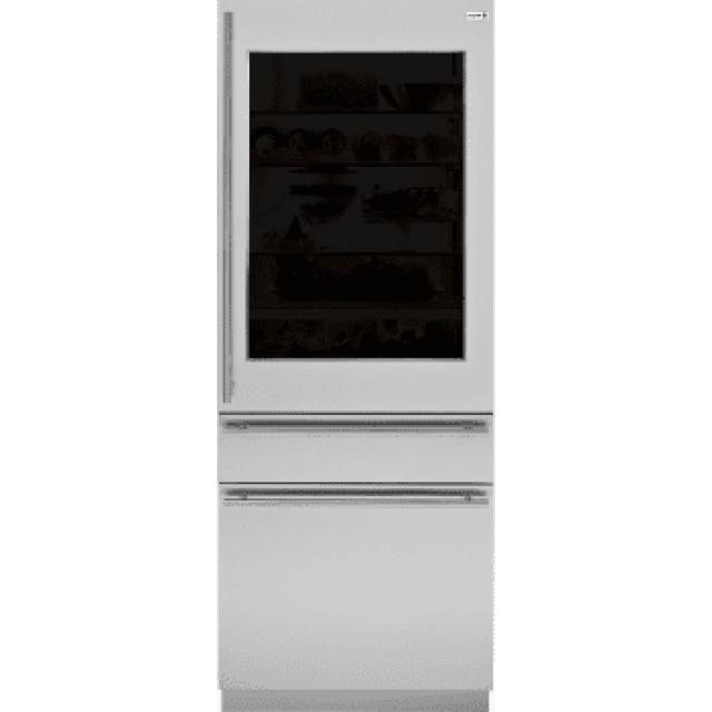 GE ZKGT304NRH Monogram 84 Inch European Glass-Door Panel Kit: For Right Hand Door Swing