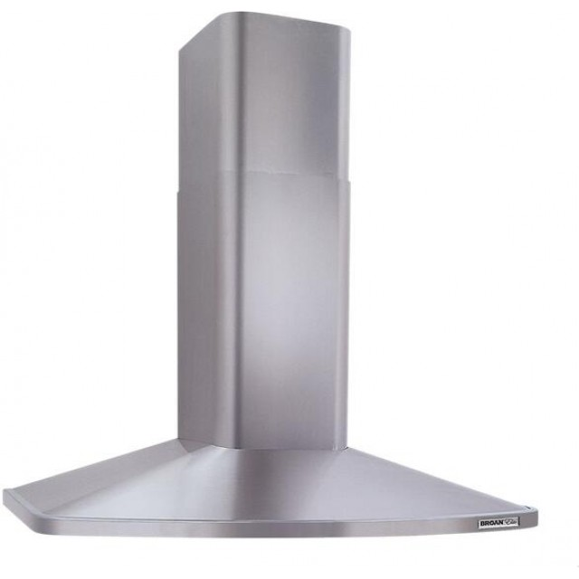 Broan RM523604 Elite RM52000 Series 36 in. Convertible Wall Mount Chimney Range Hood with Light in Stainless Steel
