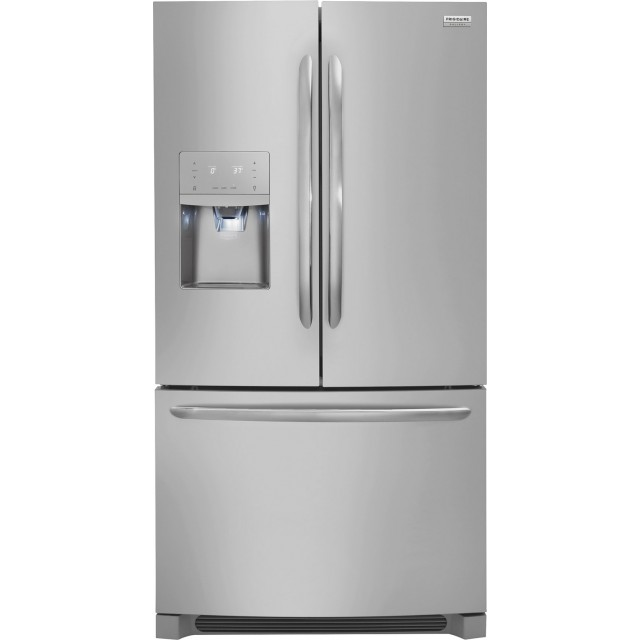 Frigidaire FGHD2368TF Gallery Series 36 Inch Counter Depth French Door Refrigerator with 21.7 Cu. Ft. Capacity, EnergyStar® and Star-K® Certified: Stainless Steel