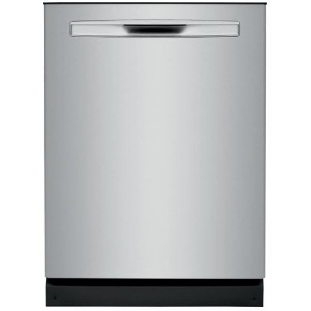 Frigidaire FGIP2468UF Gallery Series 24 Inch Fully Integrated Dishwasher with 14 Place Settings, 8 Cycles, 49 dBA, Dual OrbitClean®, MaxBoost™ Dry, SpaceWise® Rack, DishSense™, in Stainless Steel