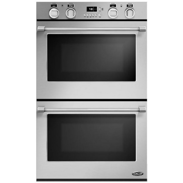 DCS WODV30 30 Inch Double Electric Wall Oven with 4.0 cu. ft. True Convection Ovens in Stainless Steel