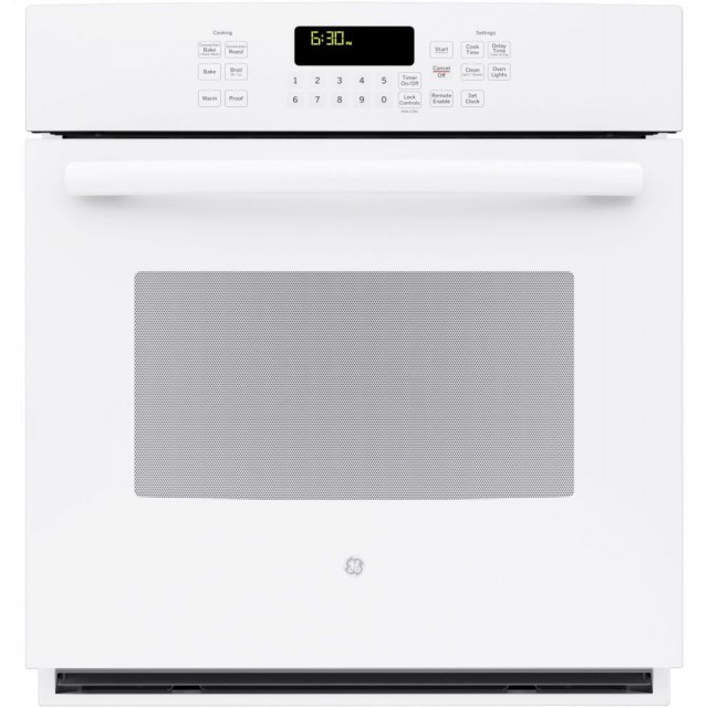 GE PK7000DFWW Profile 27 Inch Smart 4.3 cu. ft. Total Capacity Electric Single Wall Oven in White