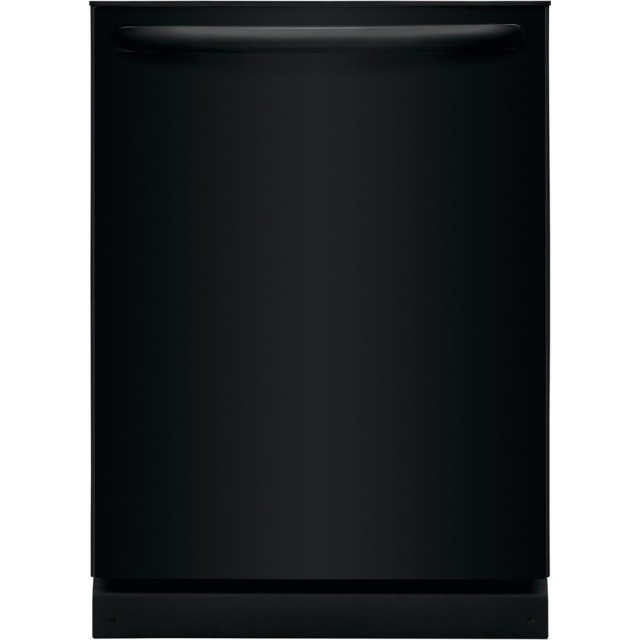 Frigidaire FFID2426TB 24 in. Built-In Top Control Tall Tub Dishwasher in Black, ENERGY STAR, 54 dBA