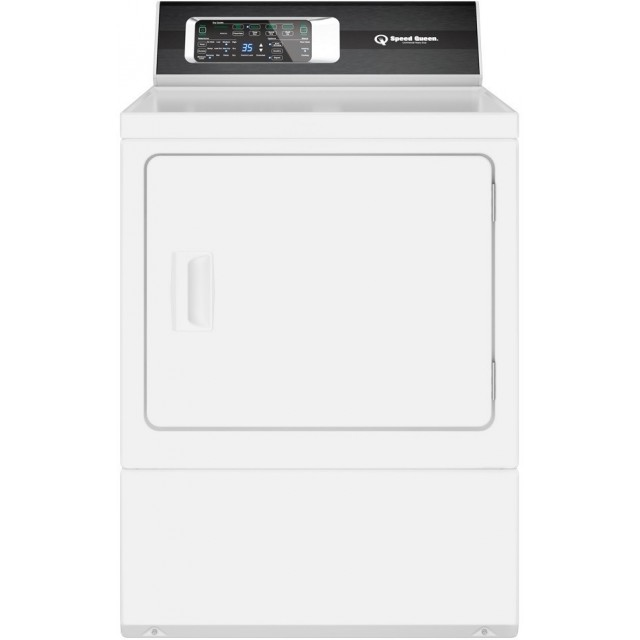 Speed Queen DR7000WG 27 Inch Gas Dryer with 7 cu. ft. Capacity, Extreme Tested Electronic Controls, 7 Year Warranty, in White