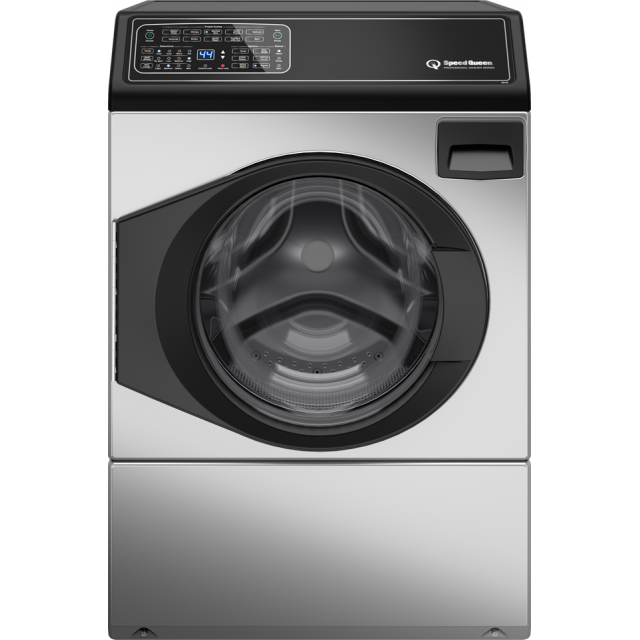 Speed Queen FF7005SN 27 Inch Front Load Washer with 3.48 cu. ft. Capacity, 5 Year Warranty, Stainless Steel
