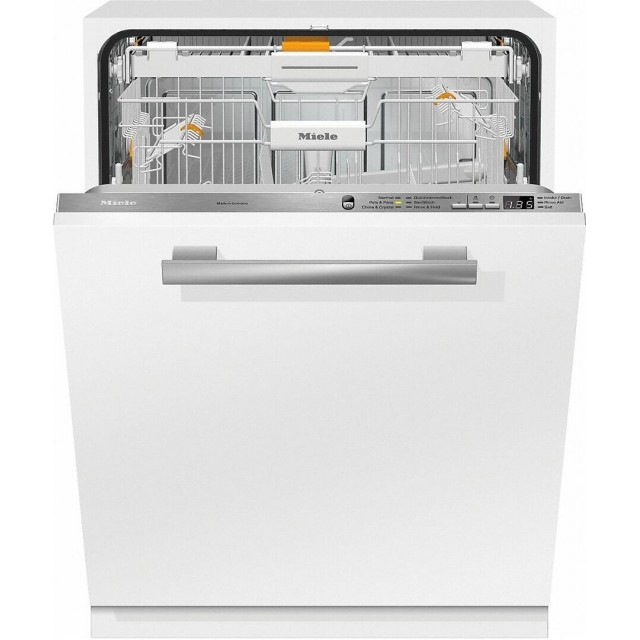 Miele G6665SCVI Crystal Series 24 Inch Built-In Dishwasher with 7 Wash Cycles, 16 Place Settings, Quick Wash, Water Softener in Panel Ready