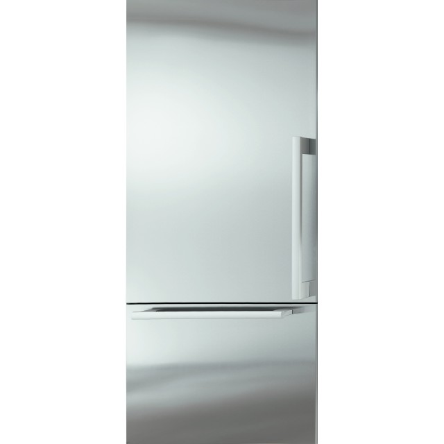 Miele KF1913Vi 36 Inch Counter Depth Built In Refrigerator with 18.68 cu. ft. Total Capacity, 5.21 cu. ft. Freezer Capacity, 3 Glass Shelves, Crisper Drawer, Left Hinge, Ice Maker in Panel Ready
