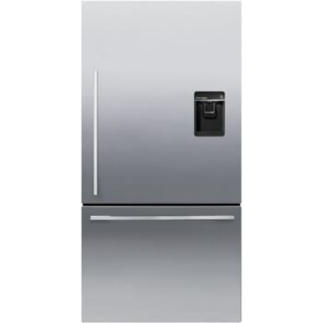 Fisher & Paykel RF170WDRUX5 Series 5 17-cu ft Bottom-Freezer Refrigerator with Ice Maker (Fingerprint-Resistant Ezkleen Stainless Steel) ENERGY STAR