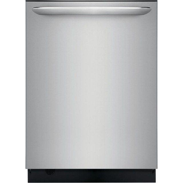 Frigidaire FGID2468UF Gallery Built-in Tall Tub Dishwasher with Dual OrbitClean Spray Arm in Smudge Proof Stainless Steel, ENERGY STAR, 49 dBA
