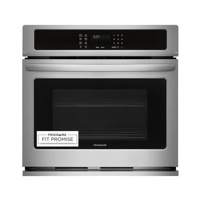 Frigidaire FFEW3026TS 30 in. Single Electric Wall Oven Self-Cleaning in Stainless Steel