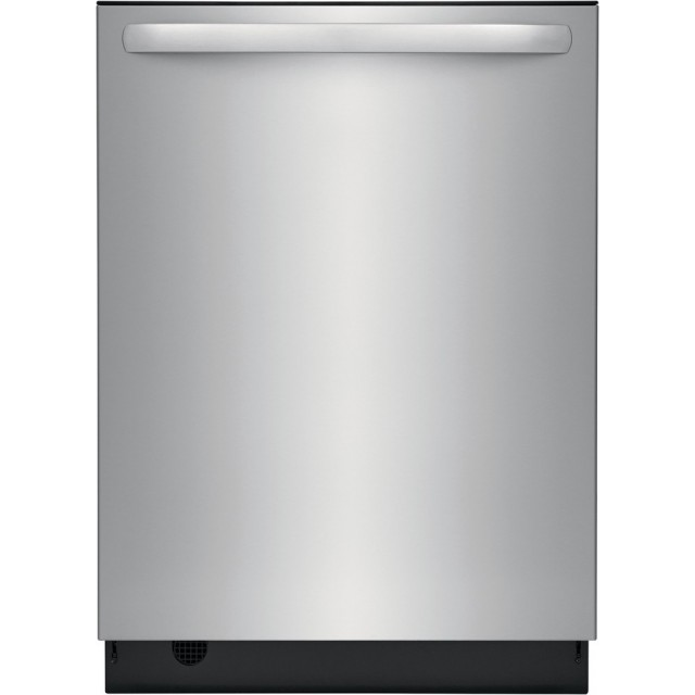 Frigidaire FDSH4501AS 24 Inch Tall Tub Fully Integrated Dishwasher with up to 14 Place Settings, Hard Food Disposer, Self Clean Stainless Steel Filter, 3rd Rack, Nylon TufRacks, EvenDry™, Hi-Temp Wash, NSF Certified, and Energy Star Certified