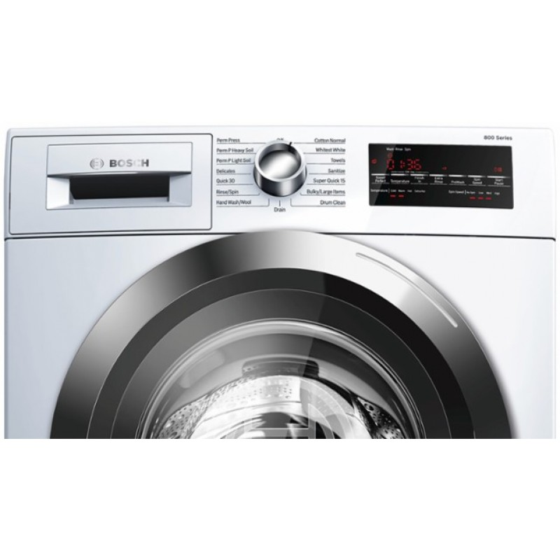 Bosch Dryer: BOSCH 800 Series Washer And Ventless Dryer Set