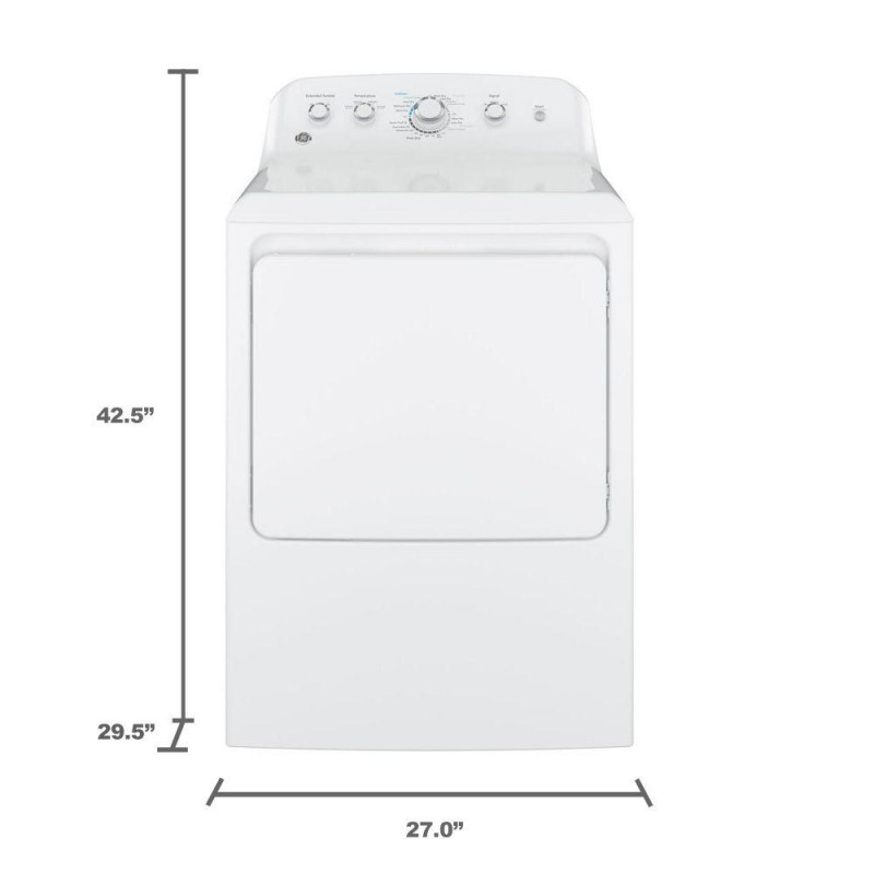 Ge Top Loading Washer And Gas Dryer 7 2 Cu Ft