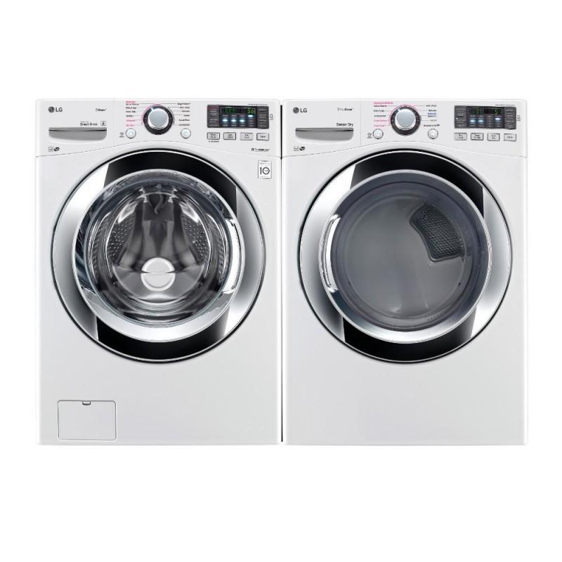 Rc Willey Hours: LG Washer & Dryer Set W/CHROME TRIM