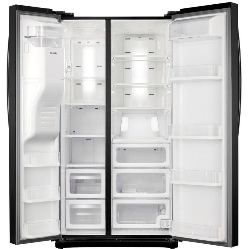 Samsung Side By Side Refrigerator Black Stainless Steel