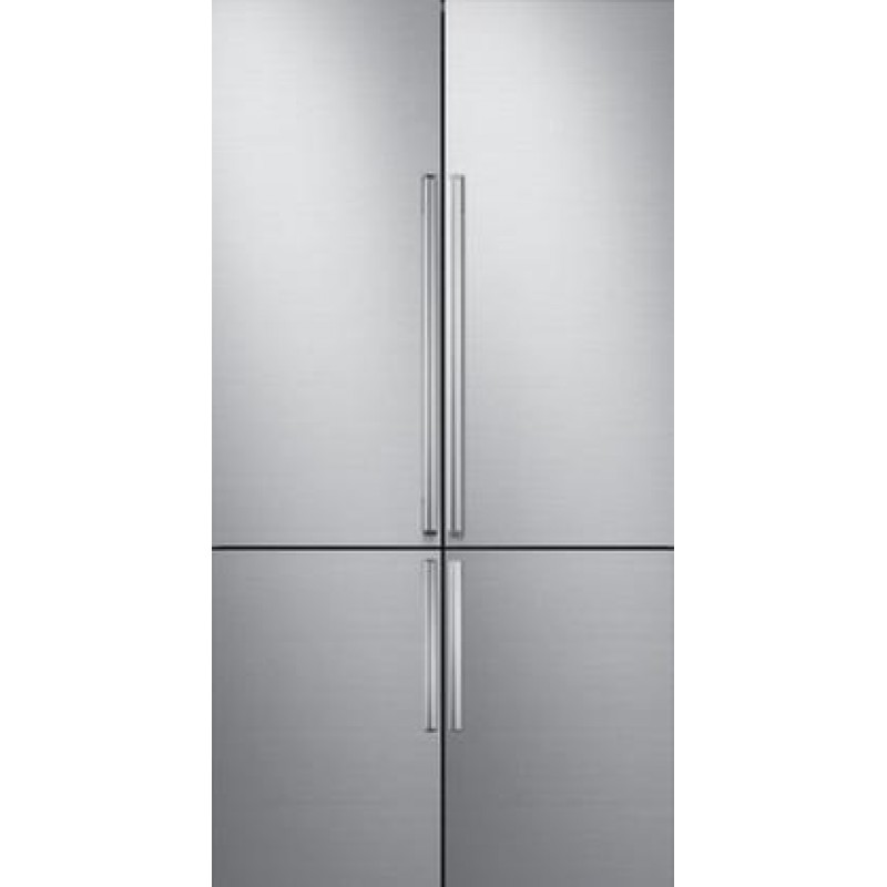 Dacor DRF427500AP Modernist 42 Inch Built In Counter Depth French Door  Refrigerator