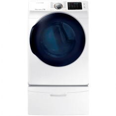 Samsung DV45K6200GW 7.5 cu. ft. Gas Dryer with Steam in White, ENERGY STAR