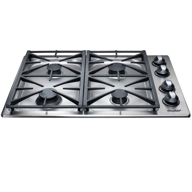 dacor rgc304sng renaissance 30 gas cooktop stainless steel natural gas. Black Bedroom Furniture Sets. Home Design Ideas