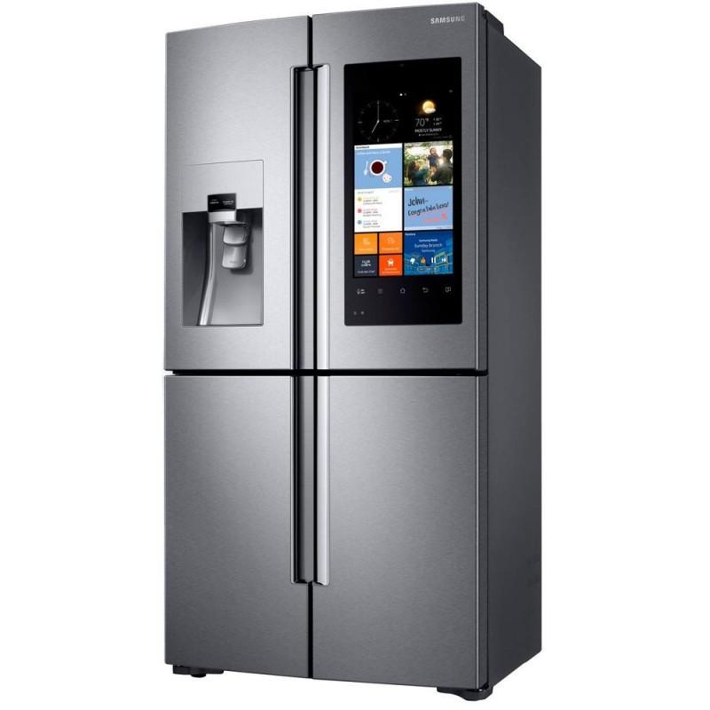 Samsung 22 Cu Ft Family Hub 4 Door Flex French Door Refrigerator