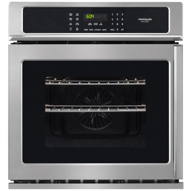 Frigidaire FGEW276SPFA Gallery Self-Cleaning Convection Single Electric Wall Oven (Stainless Steel) (Common: 27-in; Actual 27-in)