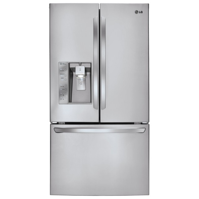 LG LFXS29626S 28.8-cu ft French Door Refrigerator with Dual Ice Maker (Stainless steel) ENERGY STAR