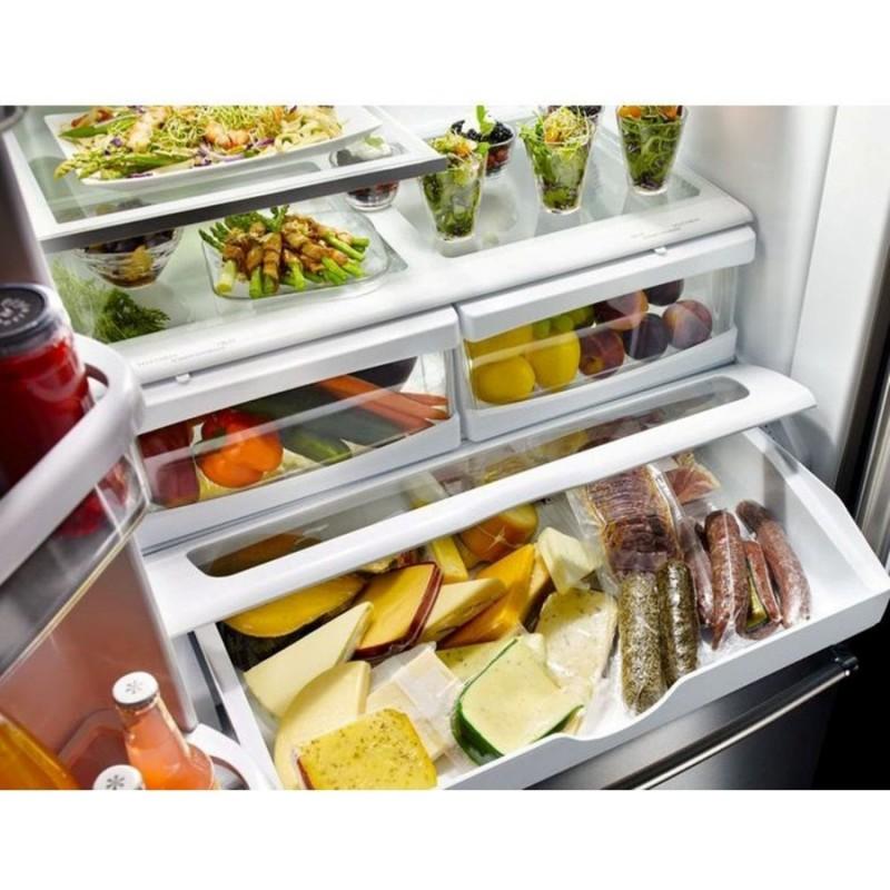 Kitchenaid Krff305ebs 25 2 Cu Ft French Door Refrigerator