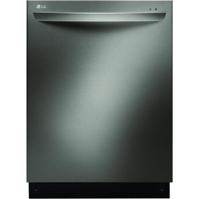 LG LDF7774BD 44-Decibel Built-In Dishwasher (Fingerprint-Resistant Black Stainless) (Common: 24-in; Actual: 23.75-in) ENERGY STAR