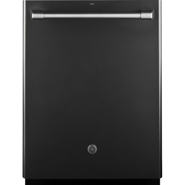 "GE CDT835SMJDS Café Series 24"" Built-In Dishwasher - Black Slate"