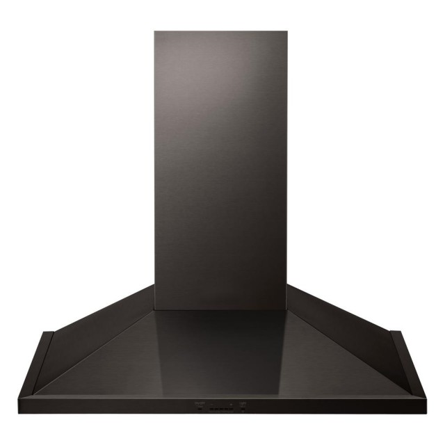 LG LSHD3089BD Studio 30 in. 600 CFM Indoor Wall Mount Range Hood with Light in Black Stainless Steel