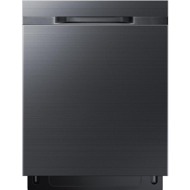 Samsung DW80K5050UG 24 in Top Control StormWash Dishwasher in Fingerprint Resistant Black Stainless with AutoRelease Dry, 48 dBa