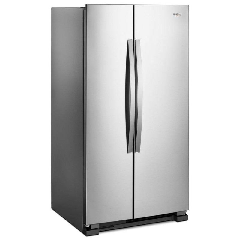 Whirlpool Wrs315snhm 25 Cu Ft Side By Side Refrigerator In