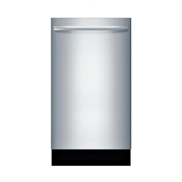 Bosch SPX68U55UC 800 Series 18 in.Top Control Tall Tub Dishwasher in Stainless Steel with Stainless Steel Tub and 3rd Rack, 44dBA