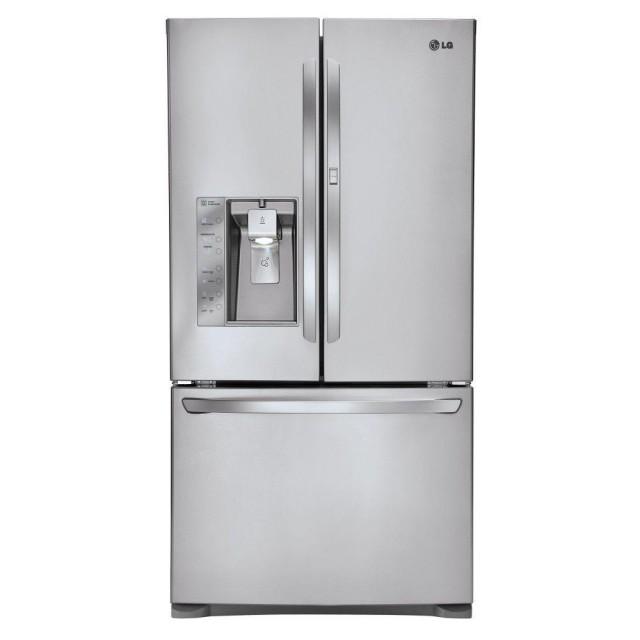 LG LFXS29766S 28.5 cu. ft. French Door Refrigerator with Door-in-Door and Dual Ice Makers in Stainless Steel