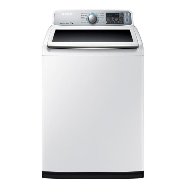 Samsung WA50M7450AW 5.0 cu. ft. High-Efficiency Top Load Washer in White, ENERGY STAR